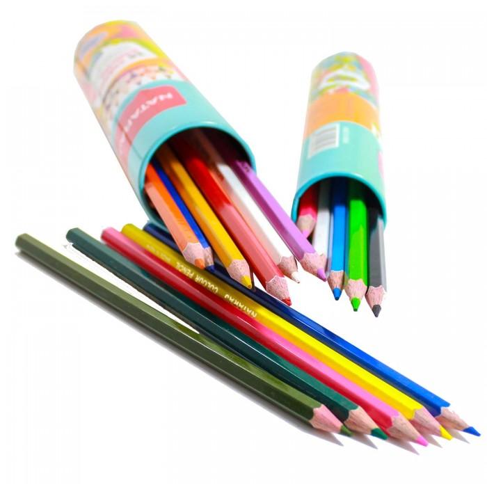 Natraj Colour Pencils-Iron Box Drum